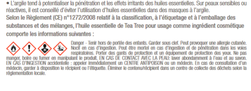 antibactérien tea tree gale de boue dermatophilose antifongique