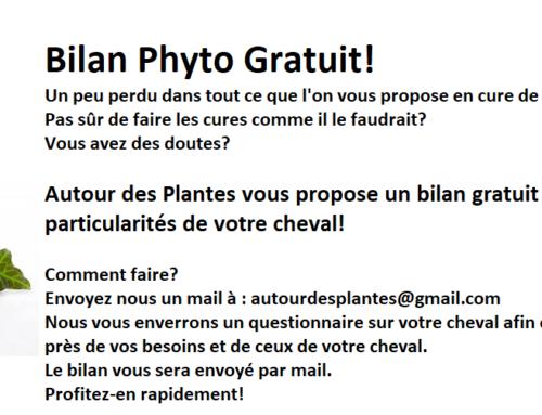 Bilan phyto gratuit